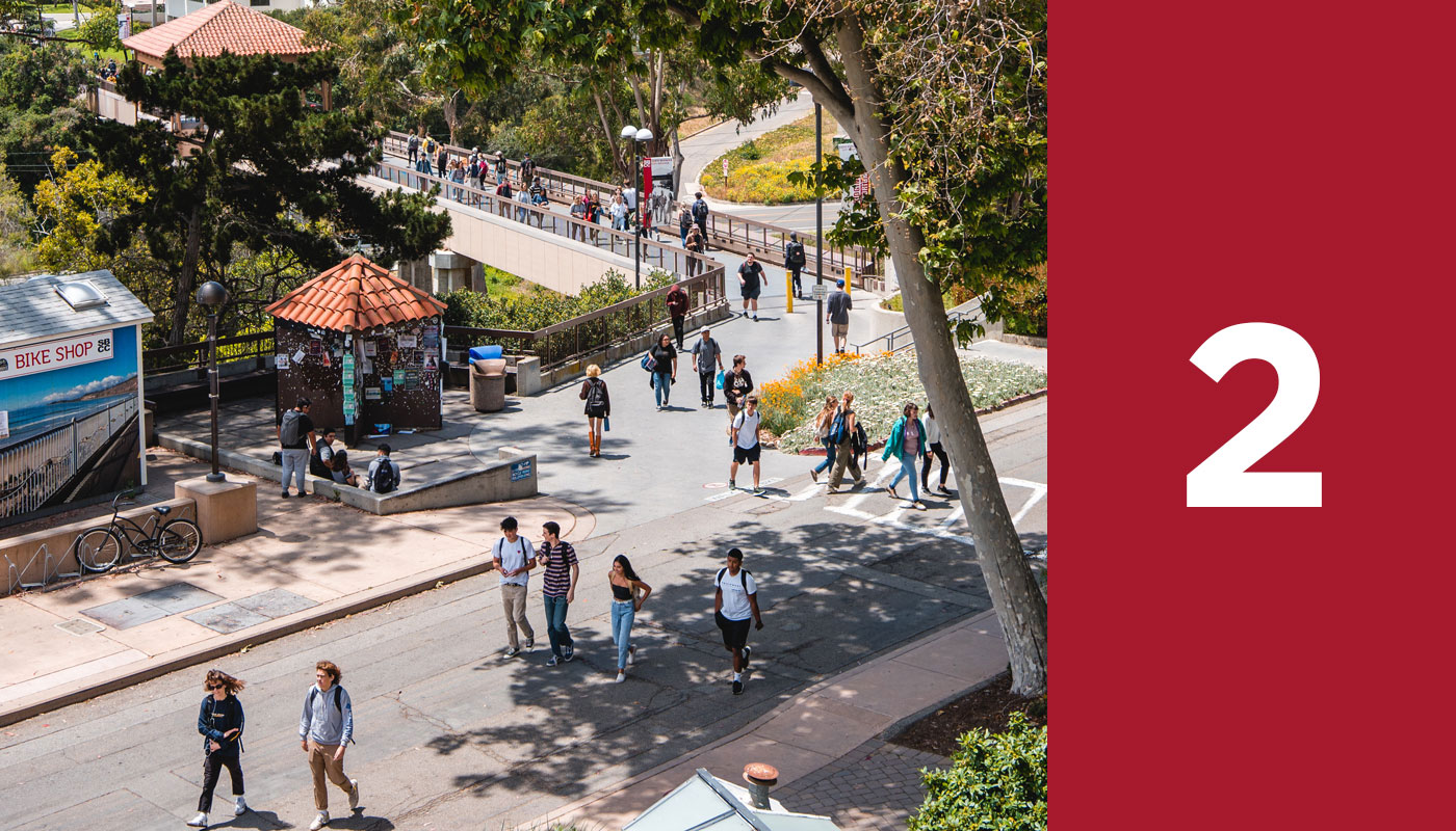 SBCC's steps to enrollment, step 2