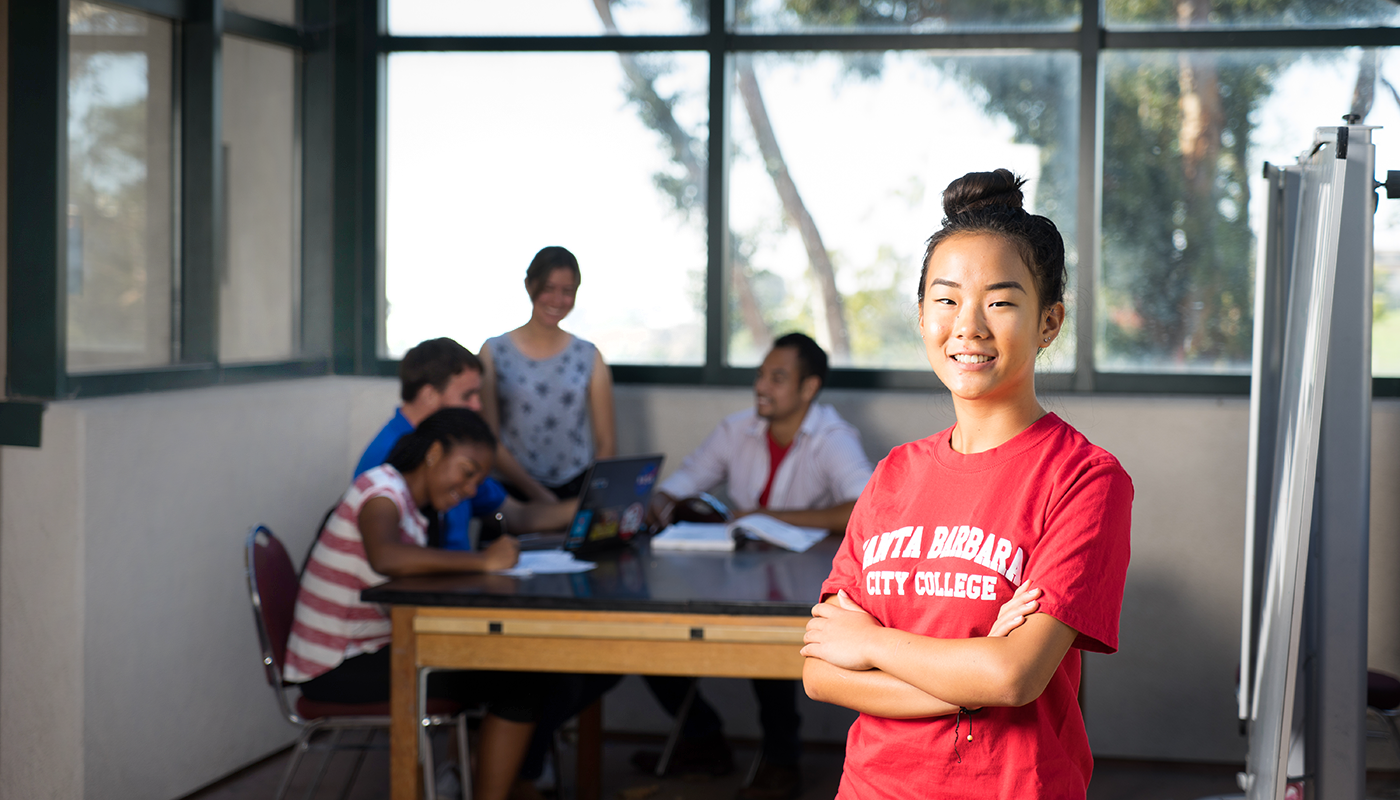 A business administration student at Santa Barbara City College.
