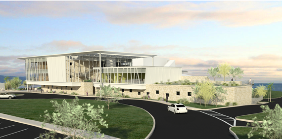 Rendering of West Campus Classroom and Office Building