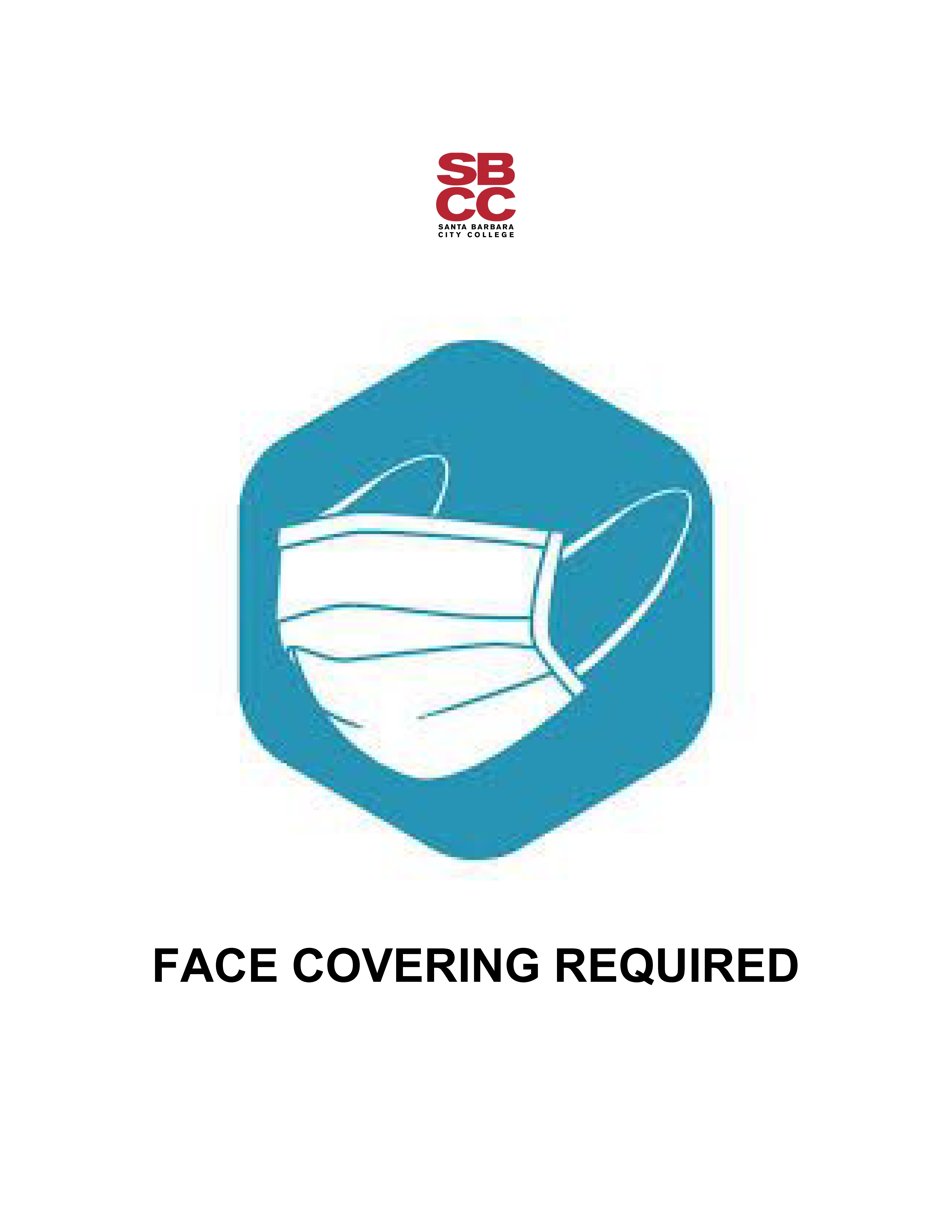 Face Coverings Required at SBCC